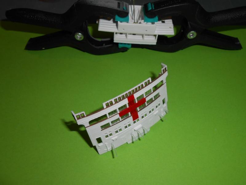 Hikawa Maru hopital 1/350 PE/pont en bois et babioles  - Page 6 589722DSCN5906