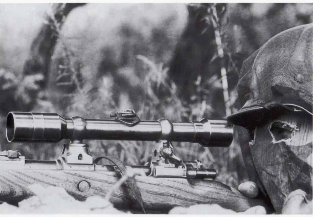 L'arme du tireur d'élite allemand de la Wehrmacht (1939-1945) : le Mauser K98k 590615sniper1qa2