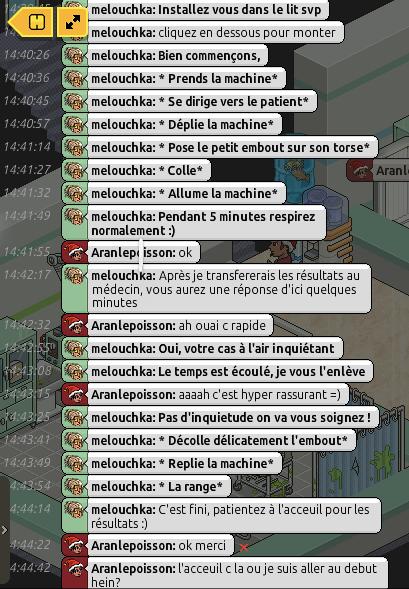 [C.H.U] Rapports d'actions RP de Melouchka 593296aran