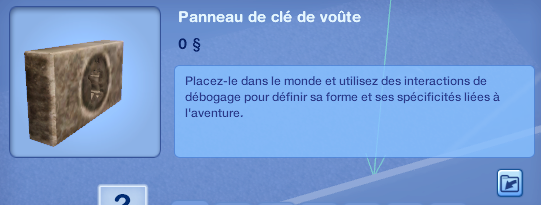 """[Débutant] Add-on """"Destination Aventure"""": Programmer quelques pièges pour une chasse aux trésors 594561Panneaudecldevote"""