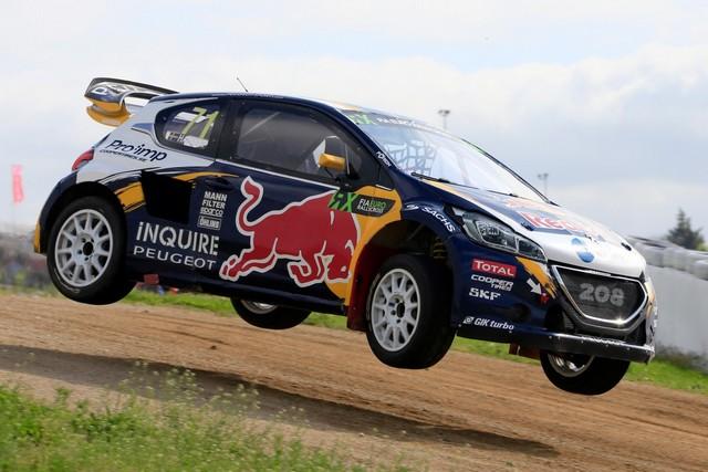 Rallycross - Belle deuxième place de Sébastien Loeb sur la PEUGEOT 208 WRX 595516WRX20160514PGT0017