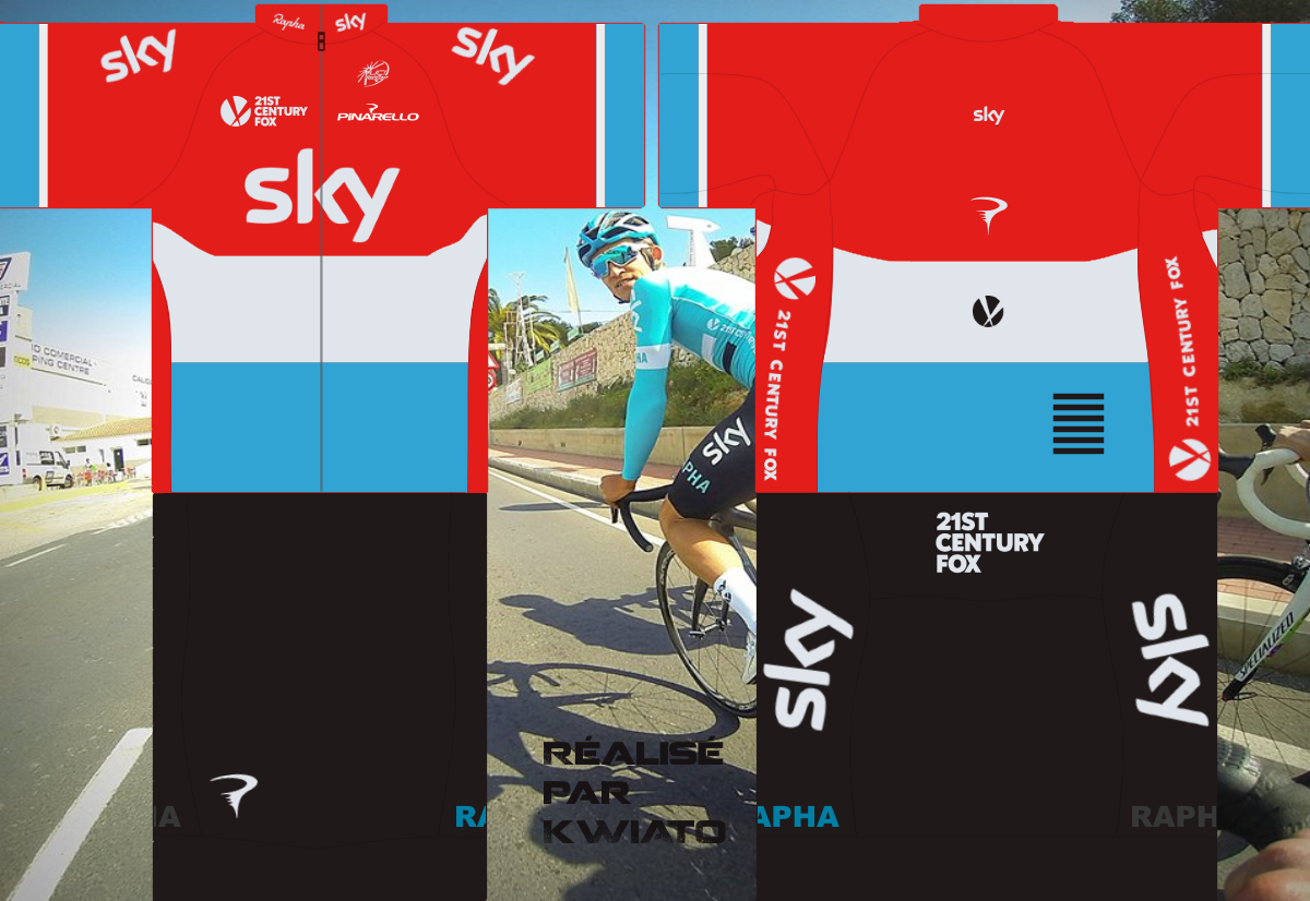 SKY Pro Cycling 595611skymaillotlux