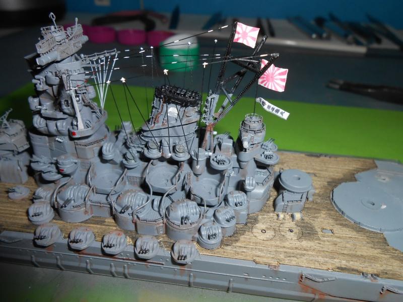 Yamato 1/700 fuji, PE,Pont en bois et babioles - Page 4 595903DSCN6167