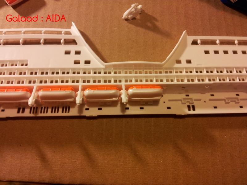 AIDA par Galaad au 1/400 marque revell 59666120120118211112