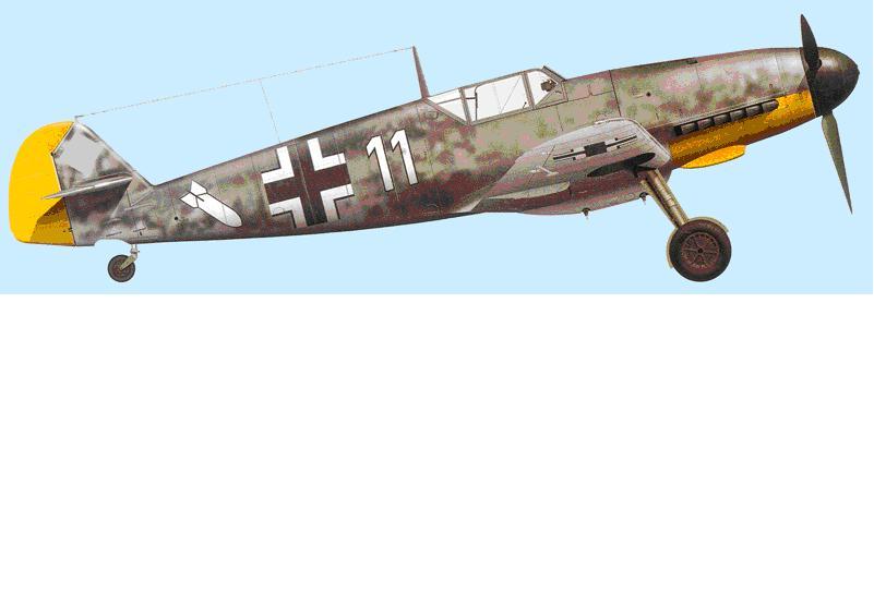 Bf-109 F-4 Trumpetter 1/24 59723711BlancJG26