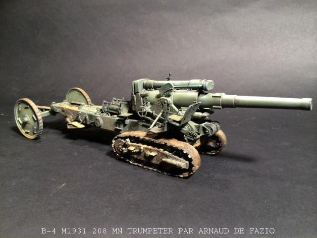 un B-4 M1931 203 mn (le marteau de Staline trumpeter 1/35 598825B41009