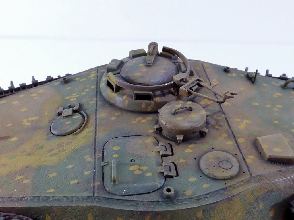 tiger - King Tiger Sd.Kfz.182 Henschel Turret Takom 1/35 599556P1060512Copier