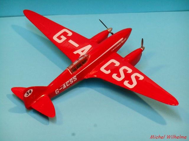 DE HAVILLAND D H88 kit Airfix 1959 599593DSCN9419Copier