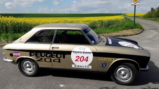 Les PEUGEOT 504 et Coupé 204 engagées au Tour Auto 2017  60177420170414113908