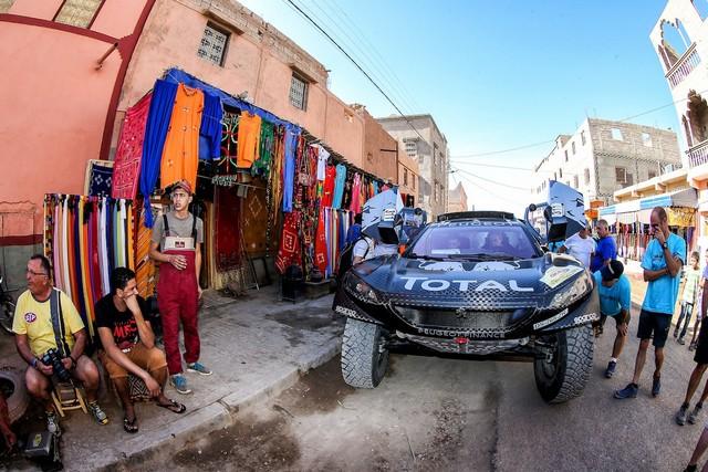 Team Peugeot Total : Rallye du maroc / ETAPE 1 : Boucle de Zagora 60232305315002010