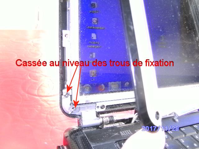 Réparer charnière cassée sur PC portable 603572monPC2
