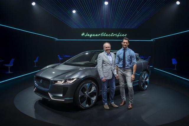 Jaguar Dévoile Le Concept I-PACE : Le SUV Électrique Performant 605836jagipacedavidgandy141116001