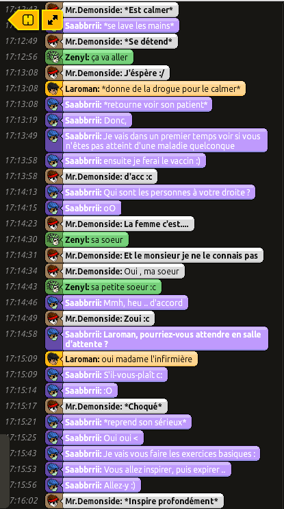 [Saabbrrii] Rapports d'actions RP - Infirmier 606318rpdemon3