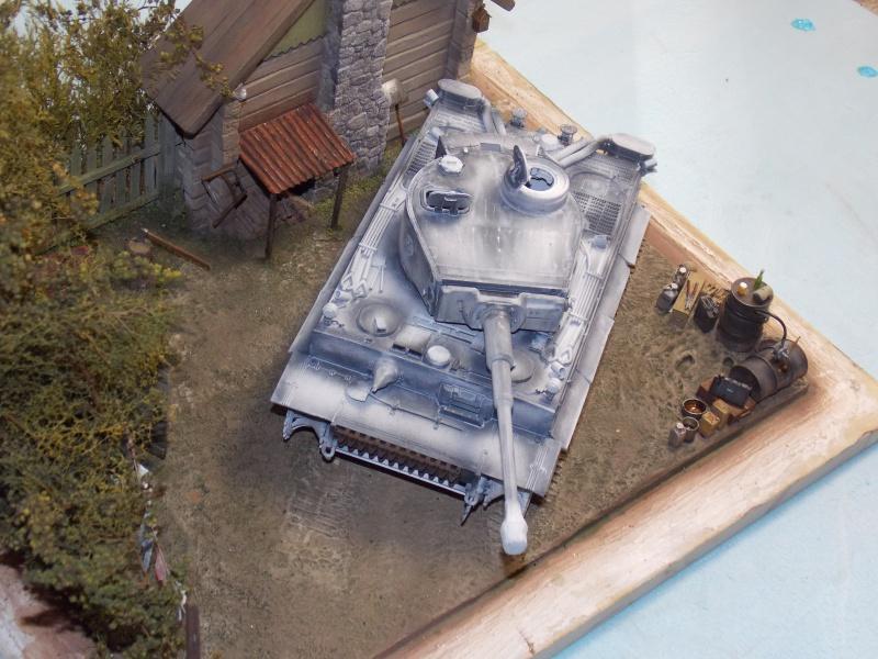 TIGRE S33  avant la bataille de Koursk juillet 43 (Dragon 1/35 dio DIODUMP) - Page 4 608154DSCN4635