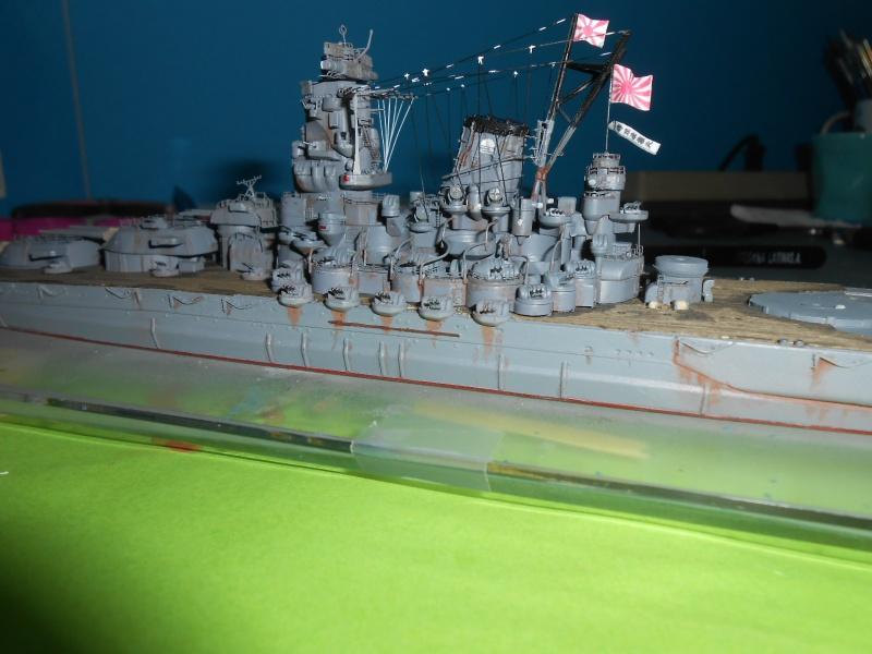Yamato 1/700 fuji, PE,Pont en bois et babioles - Page 4 608861DSCN6171