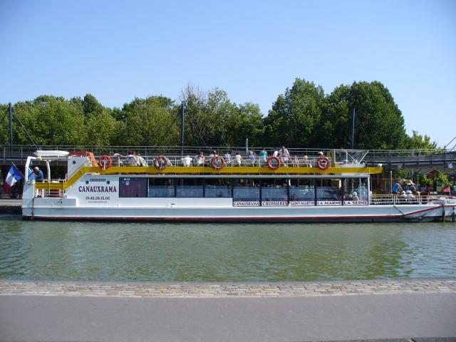 Balade sur le canal St MArtin à PAris (75) 608875P1070528