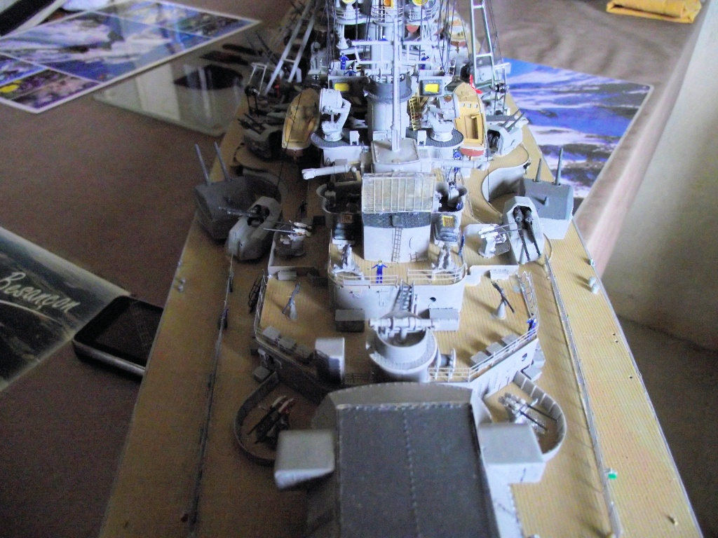 Bismarck Trumpeter 1x200 avec PE et figurines Eduard 609602Bismarck1x200139