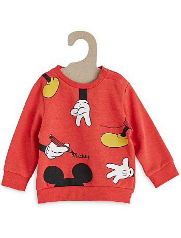 Mickey et ses amis  - Page 7 610686sweatmickeymouserougepetitgarcontg7362fr1