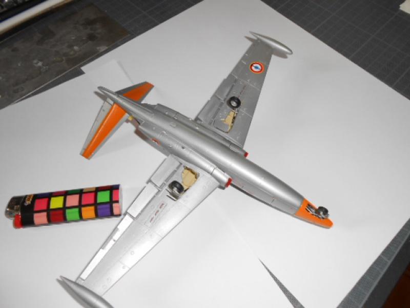 Fouga Magister 1/48 Kinetic lionel 45 611092fg003