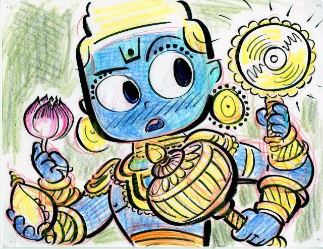 [Cartoon Pixar] Sanjay et sa Super Équipe (2015) 611447w81