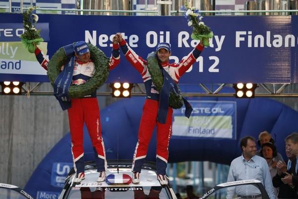 WRC Rallye de Finlande 2012 (jour-3) Victoire : Sébastien Loeb 6123322012rallyedefinlandeloebElena5