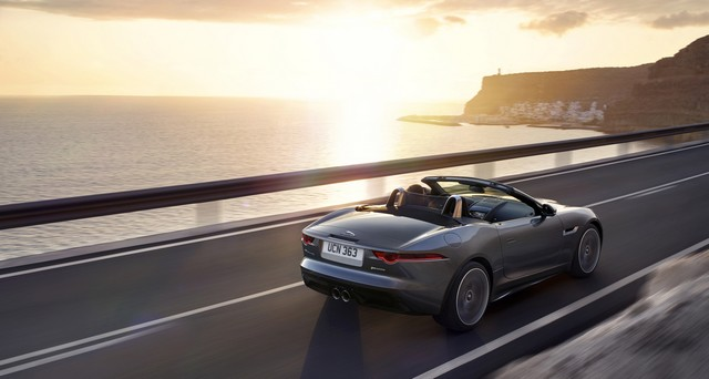Lancement De La Nouvelle Jaguar F-TYPE Dotée De La Technologie GOPRO En Première Mondiale 613059jaguarftype18myrdynamiclocationexterior10011702
