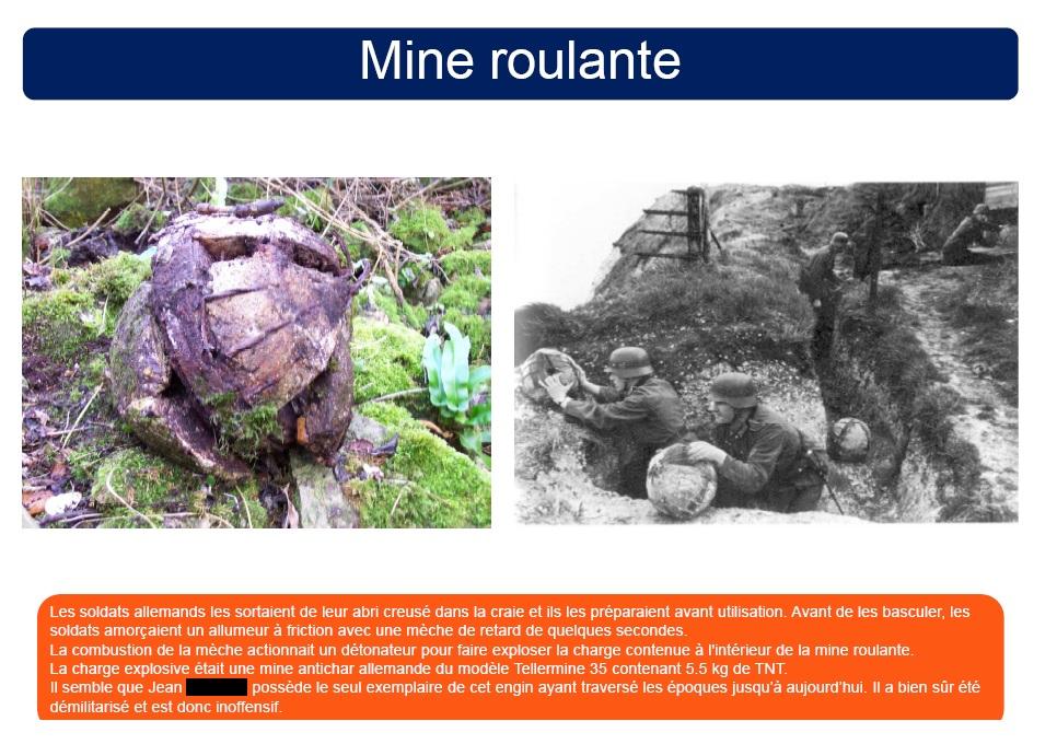 DECOUVERTES D'ENGINS DE GUERRE - ATTENTION !!! 614665519