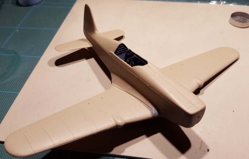 Morane Saulnier MS 406 - 1/48eme AZ Models  61561320151206180625