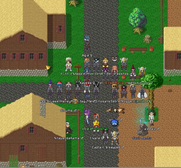 Présentation de MMORPG 2D amateurs 617092Halloween