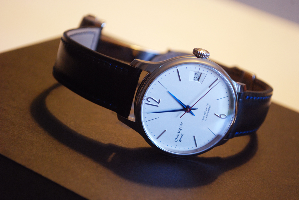 ward - Enjoy your new Christopher Ward C1 Grand Malvern 5 Day Automatic 619622face