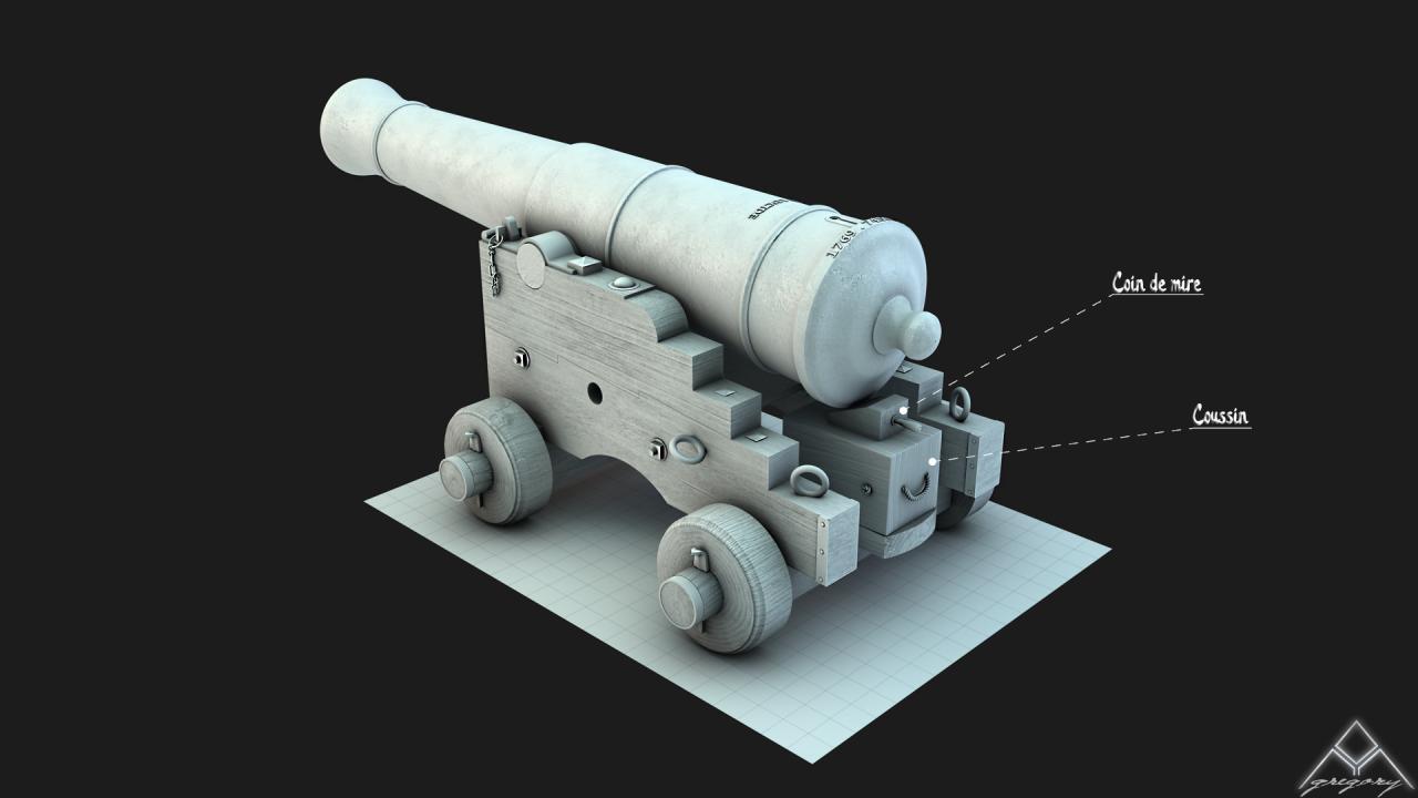 Canons pour le vaisseau de 74 canons - Page 3 619752Canon36
