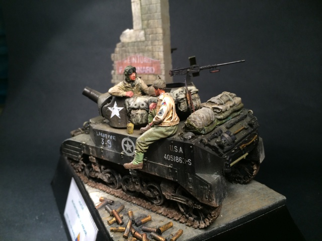 M8 howitzer motor carriage (Tamiya 1/35) unité Hell on Wheels, France 44 620238IMG3491