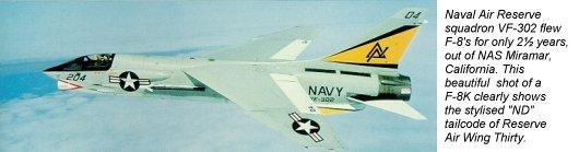 VOUGHT F-8 CRUSADER  620297VoughtF8KVF302