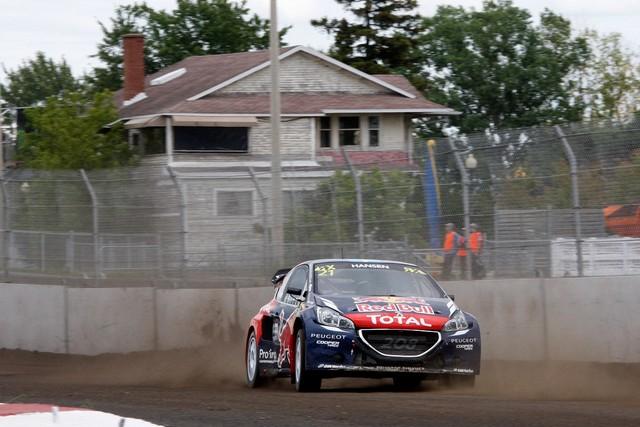 Rallycross : La PEUGEOT 208 WRX et le Team Peugeot Hansen triomphent au Canada ! 621452wrx20150807088