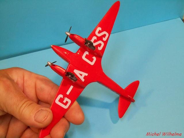 DE HAVILLAND D H88 kit Airfix 1959 622322DSCN9422Copier