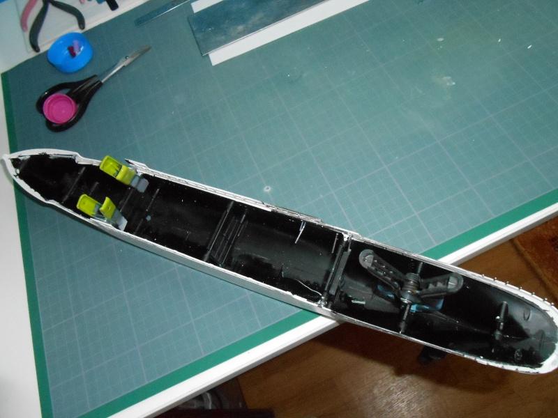 Hikawa Maru hopital 1/350 PE/pont en bois et babioles  622898DSCN5586