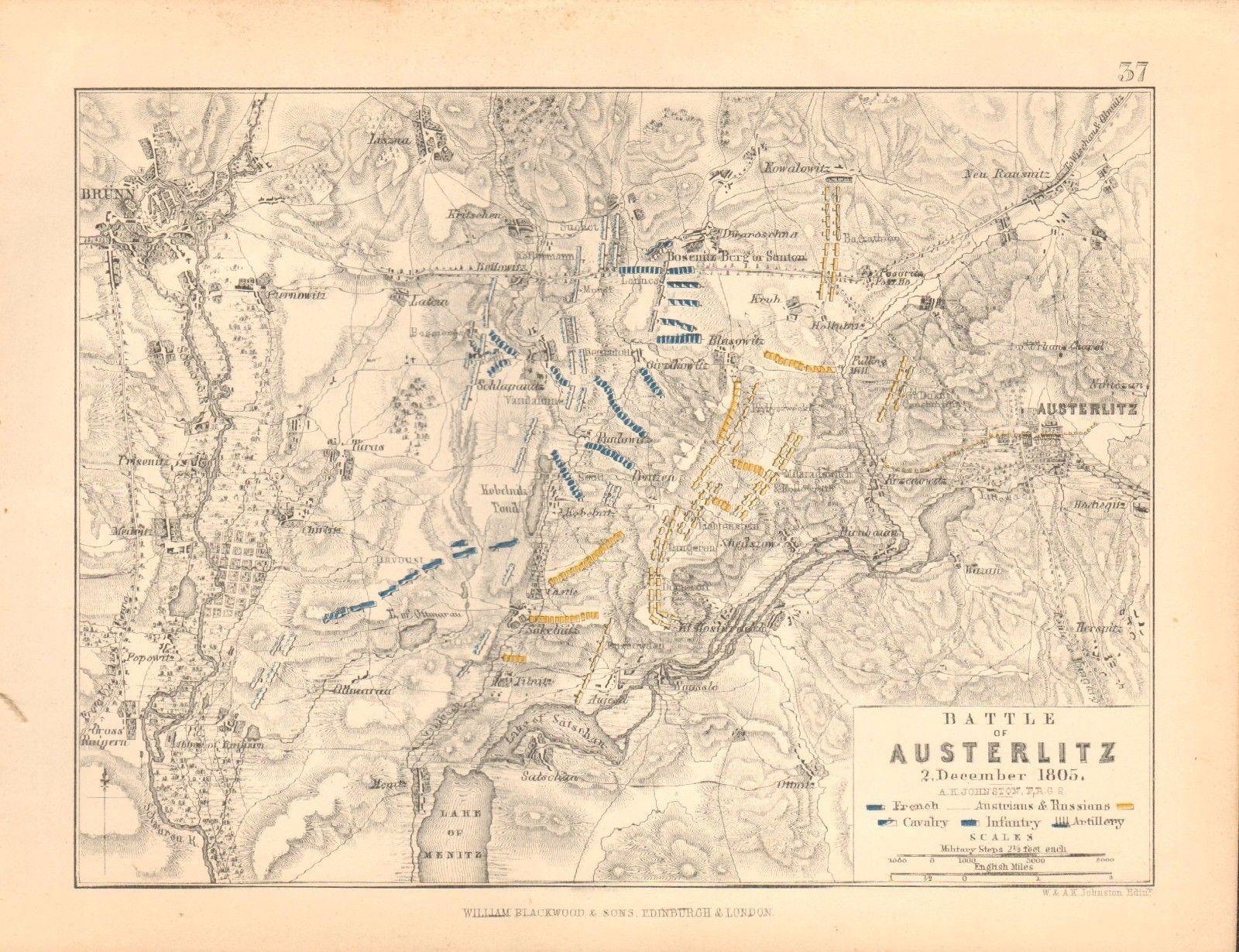 Austerlitz : 2 décembre 1805 623272PlanBattleofAusterlitz2ndDecember1805