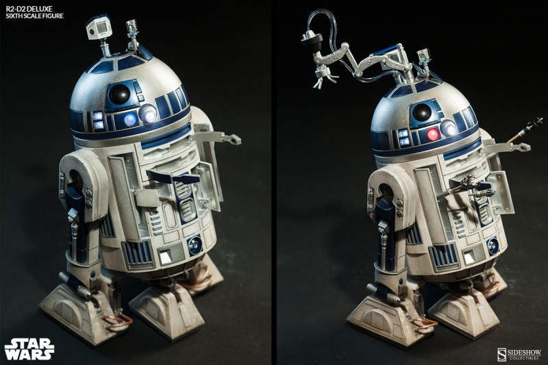 Sideshow - R2-D2 Deluxe Sixth Squale Figure 6236332172r2d2deluxe008