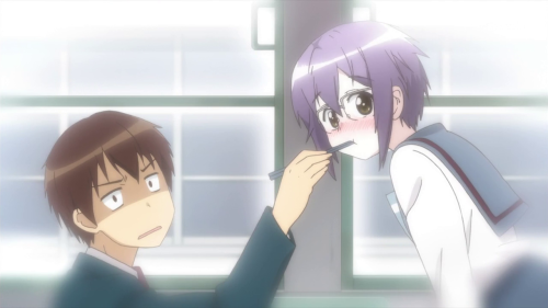 [MANGA/ANIME] Nagato Yuki-chan no Shoushitsu (The Disappearance of Nagato Yuki-chan) ~ 624987vlcsnap2015100518h04m50s153