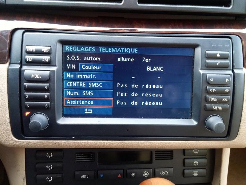 [TUTO toutes BMW jusqu'à 2003] Les menus du GPS mk4 (notions 625663Rglagestlmatiques