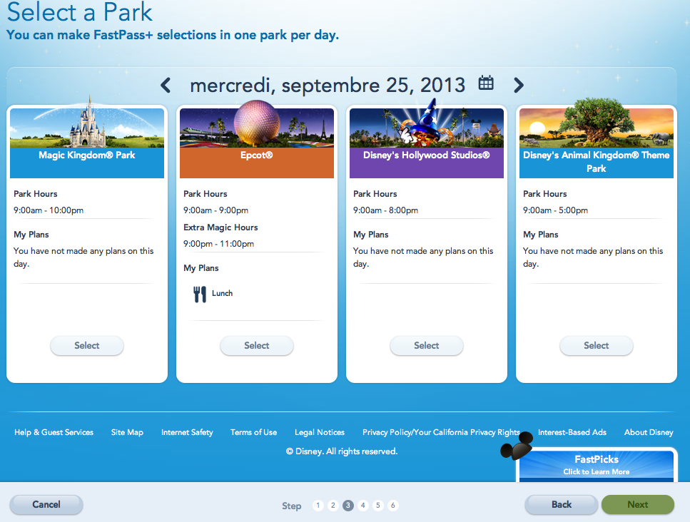 MyMagic+: FastPass+, MyDisneyExperience et MagicBands [Walt Disney World Resort] - Page 5 627512Capturedcran20130820000457