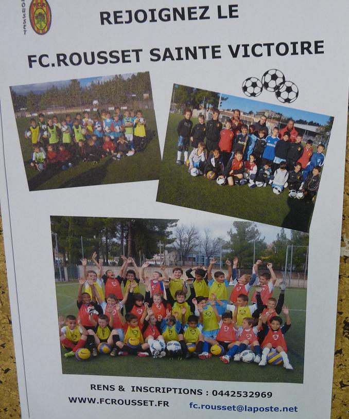 """LA SAINTE VICTOIRE DONNERA AU FC ROUSSET FOOT UN AVENIR """"SACREMENT """" GLORIEUX ! - Page 2 628926P1310389"""