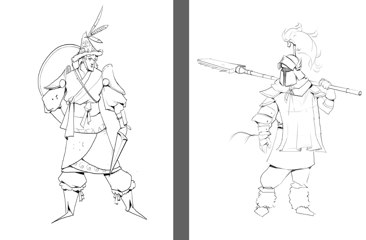 """WIP et TEST, Gael """"djaoul' Lannurien - Page 2 629277charadesign"""