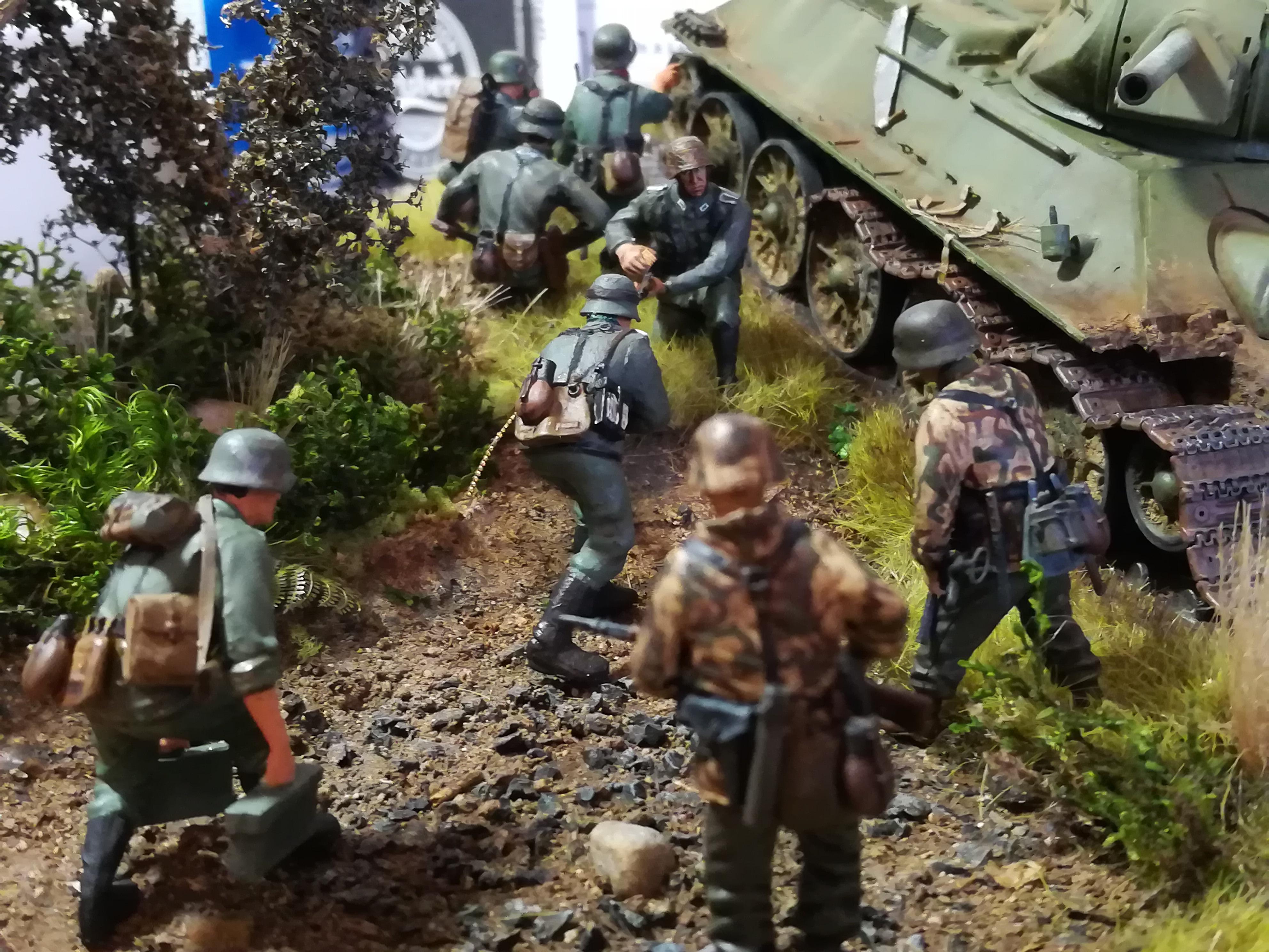 Front de l'Est, 1942 - T34 et Wehrmacht - Zvezda - 1/35 - Page 2 629698IMG20171219141407