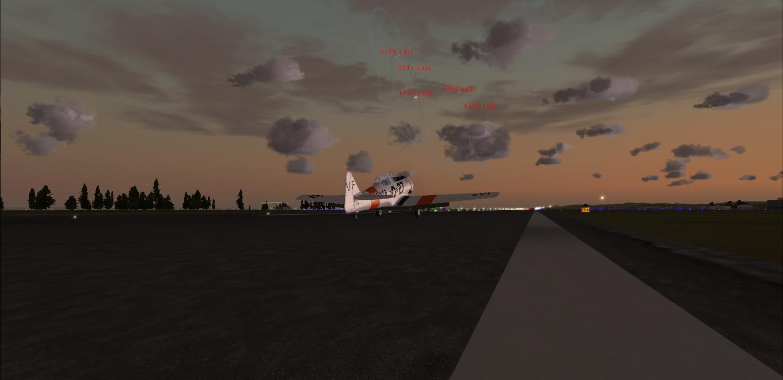 Patrouille en T-6 Texan 6297432014311183431152