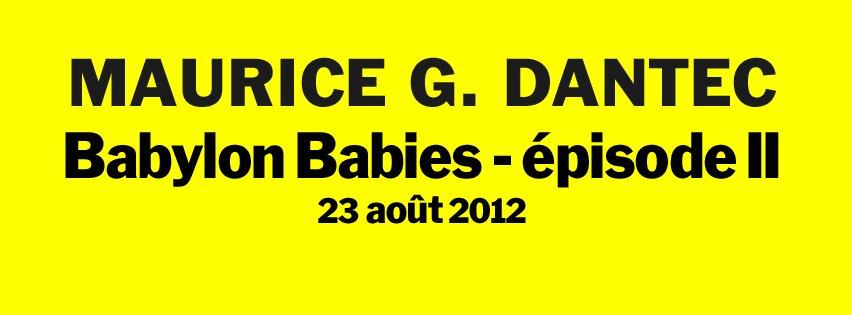 Satellite Sisters de Maurice G Dantec (2012) 630091dantec