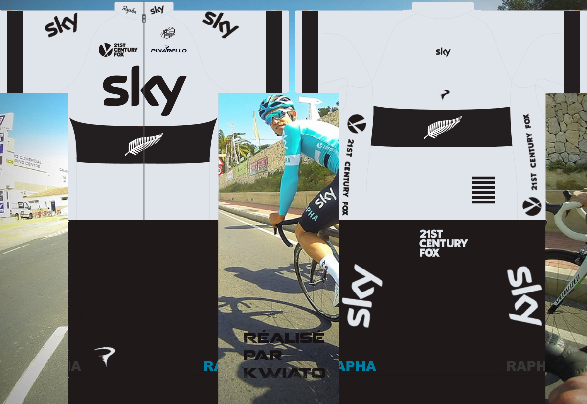 SKY Pro Cycling 630211skymaillotnzl