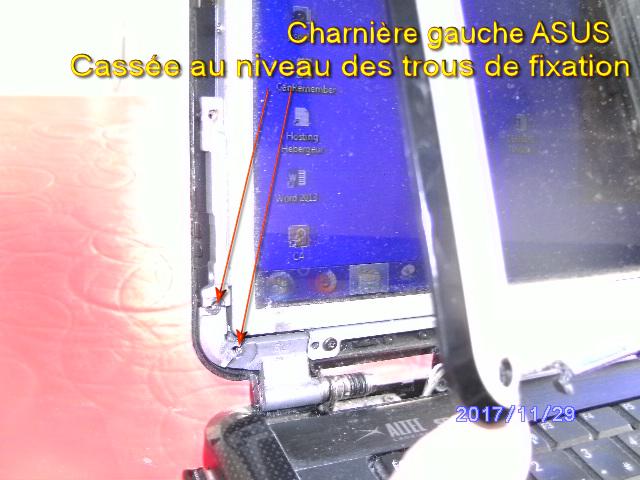 Réparer charnière cassée sur PC portable 632122monPC