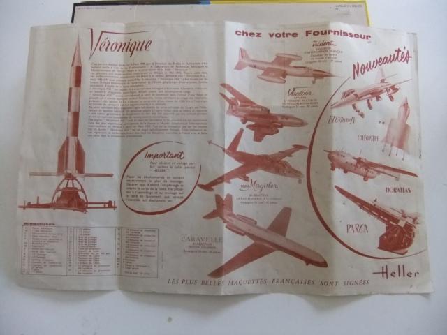 Fusée VERONIQUE 1/30ème Réf DN 752 Notice 634274036
