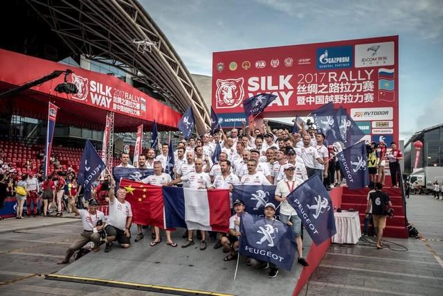 Peugeot Triomphe Pour La Deuxième Année Consécutive Sur Le Silk Way Rally 63439320245560
